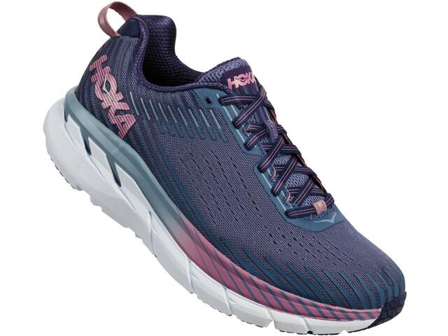 Hoka One One Clifton 5 Buty do biegania Kobiety fioletowy/niebieski